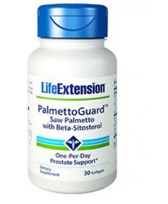 Palmettoguard Saw Palmetto Mit Beta-Sitosterol -  30 Weichkapseln- Life Extension