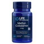 Methylcobalamin 1 mg (60 Veggie Lozenges ) - Life Extension