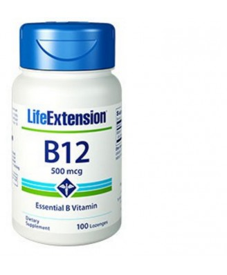 Vitamin B12 -  500 Mcg 100 Tabletten - Life Extension