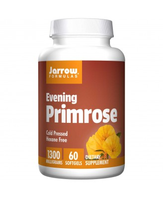 Evening Primrose 1300 mg (60 Softgels) - Jarrow Formulas