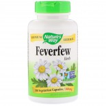 Nature's Way, Feverfew Leaves, 380 mg, 100 Capsules