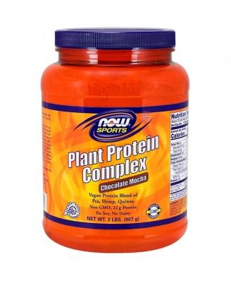 Plant Protein Complex- Chocolate Mocha (907 gram) - Now Foods