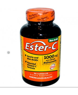 American Health, Ester-C mit Citrus Bioflavonoide 1000 mg, 90 Kapseln