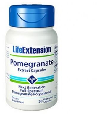 Granatapfelextrakt Kapseln, 30 Vegetarische Kapseln - Life Extension