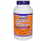 Now Foods, Magnesium & Calcium (1:2) with Zinc and Vitamin D, 250 Tablets