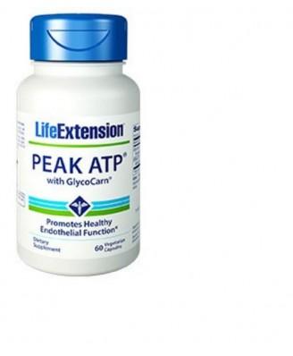 Peak Atp Mit Glycocarn - 60 Vegetarische Kapseln - Life Extension