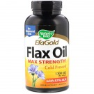 Nature's Way, EFA Gold, Flax Oil, High Potency, 1300 mg, 200 Softgels
