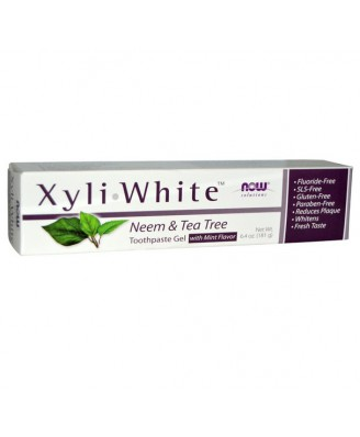XyliWhite Zahnpasta Neem & Tea Tree (181 g) - Now Foods