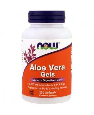 Aloe Vera Gels (250 softgels) - Now Foods
