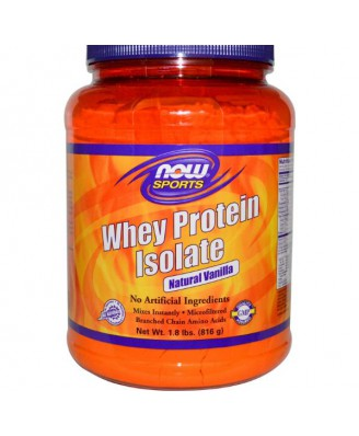 Whey Protein Isolate Vanille (816 gram) - Now Foods