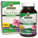 Pau D'Arco, 1000 mg (90 Veggie Caps) - Nature's Answer