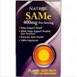 Natrol, SAMe, 400 mg, 20 Enteric Coated Tablets