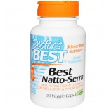 Doctor's Best, Best Natto-Serra, 90 Veggie Caps