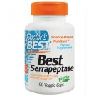 Best Serrapeptase 40.000 SPU (90 Veggie Caps ) - Doctor's Best