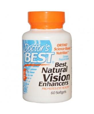 Doctor's Best, Best Natural Vision Enhancers, 60 Softgels