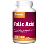 Folic Acid 800 mcg (100 Capsules) - Jarrow Formulas