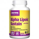 Alpha Lipoic Sustain with Biotin 300 mg (60 tablets) - Jarrow Formulas