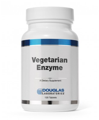 Douglas Laboratories, Vegetarische Enzym (60 Tabletten)