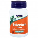 Selenium 100 μg (100 tabs) - NOW Foods