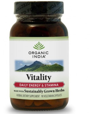 Vitalität Formel (90 Veggie Caps) - Organic India