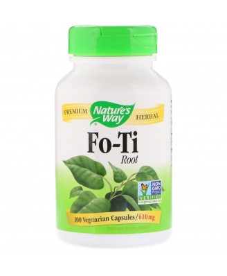 Nature's Way, Fo-Ti Root, 610 mg, 100 Capsules