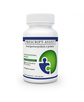 Prescript-Assist Broad Spectrum Probiotic Complex (60 Capsules) - LL Magnetic Clay