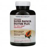 Super Papaya Enzyme Plus (360 tablets) - American Health