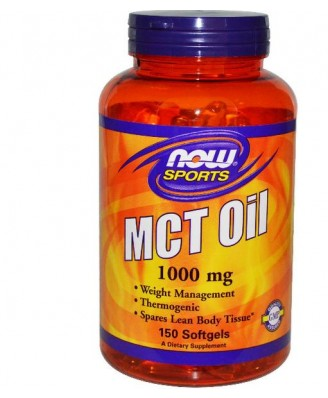 Now Foods, Sports, MCT Oil, 1000 mg, 150 Softgels