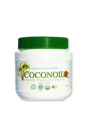 Coconoil Organic Virgin Coconut Oil 460g Tub