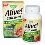 Nature's Way, Alive! Calcium, Bone Formula, 120 Tablets