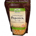 Bio-Popcorn (680g) - Now Foods