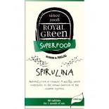 Spirulina Organic – 120 Tabs – Royal Green