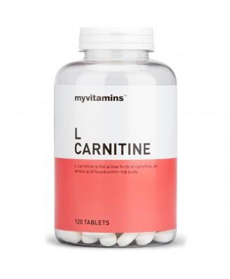 Myvitamins L Carnitine, 120 Tablets (120 Tablets) - Myvitamins