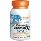 Doctor's Best, Natürliche Vitamin-K2, Mena Q7, 45 Mcg, 180 Veggie Caps
