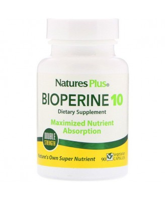 Bioperine 10 (90 Vegetarian Capsules) - Nature's Plus