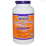 Now Foods, Coral Calcium Plus, 250 Vcaps