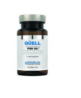 Fischöl - hohe EPA + DHA w/Vitamin D3 zu unterdrücken (60 Tabletten) - Douglas Laboratories