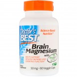 Brain Magnesium with Magtein 75 mg (60 Veggie Caps ) - Doctor's Best