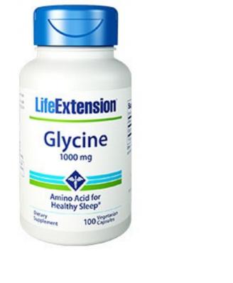 Glycin 1000 Mg - 100 Vegetarische Kapseln - Life Extension