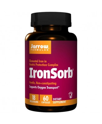 IronSorb 18 mg (60 Vegetarian Capsules) - Jarrow Formulas
