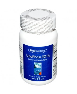 LipoPhos EDTA Liposomal Phospholipids 2 fl oz (60 ml) - Allergy Research Group