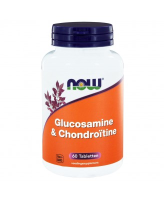 Glucosamine & Chondroïtine (60 tabletten) - Now Foods