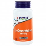 L-Ornithine 500 mg (60 capsules) - Now Foods