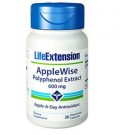 Applewise Polyphenol-Extrakt 600 Mg - 30 Vegetarische Kapseln - Life Extension