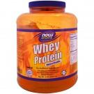 Whey Protein- Natural Vanilla  (2722 gram) - Now Foods