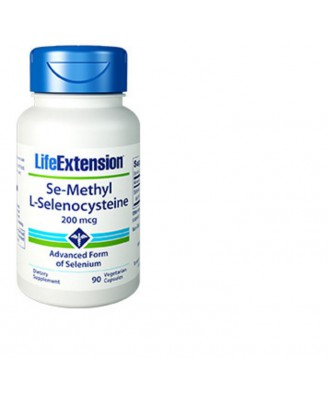 Se-Methyl L-Selenocysteine 200 mcg - 90 vegetarian capsules - Life Extension