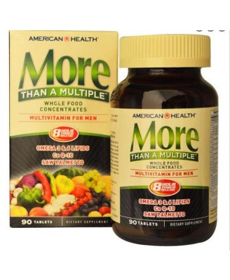 American Health More Than a Multiple Multivitamin für Männer, 90 Tabletten