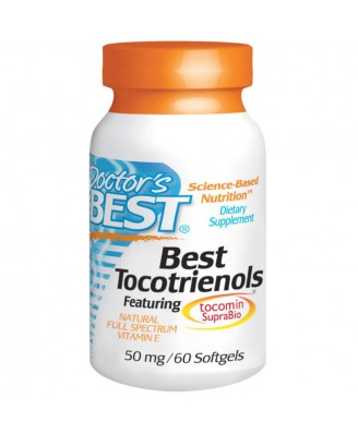 Doctor's Best, Best Tocotrienols, 50 mg, 60 Softgels