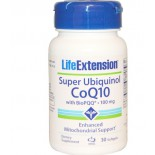 Life Extension, Super Ubiquinol CoQ10 with BioPQQ, 100 mg, 30 Softgels