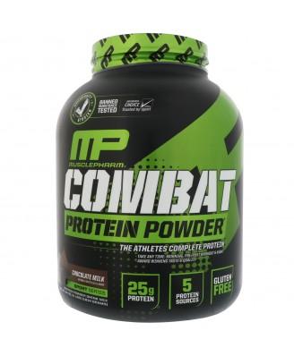 Combat Protein Powder Chocolate Milk 1814 g  - MusclePharm